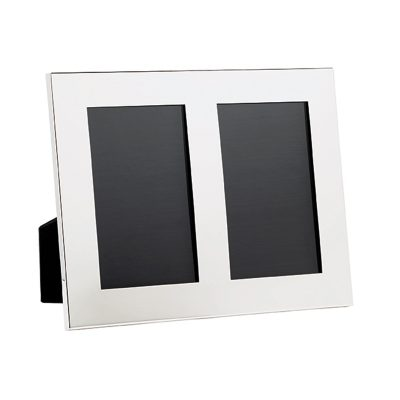 1599 Frame 7 X 9 Double Image Leather Back